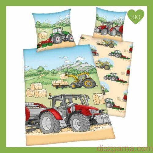 Traktoros biopamut ovis ágyneműnitúra