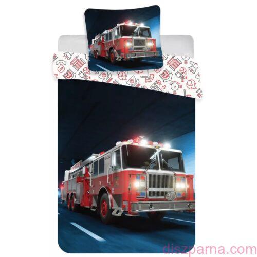 Tűzoltóautós ágynemű