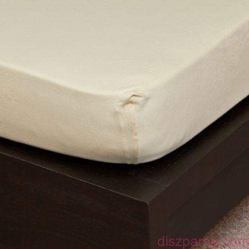 Vanília jersey lepedő 100x200 cm
