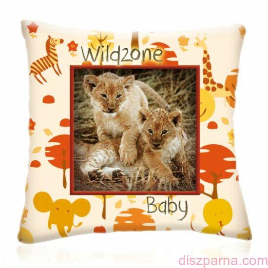 Wild Zone Baby Kis Oroszlánok díszpárna