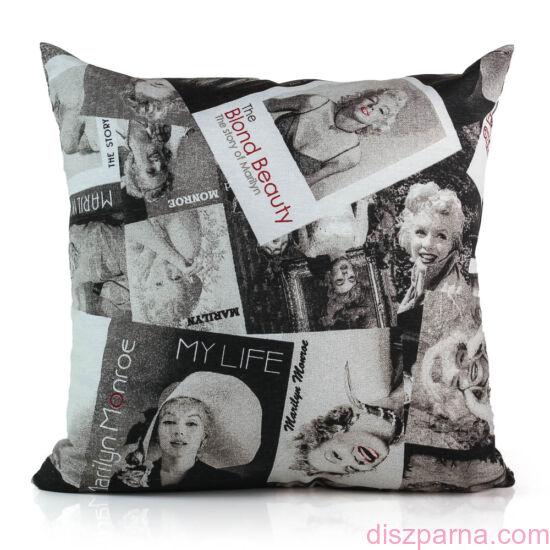 Marilyn Fekete Fehér díszpárna