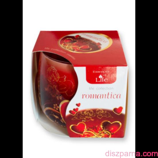 Romantika poharas illatmécses