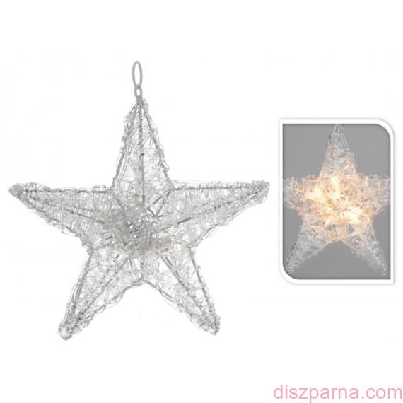 10 LEDes karácsonyi csillag
