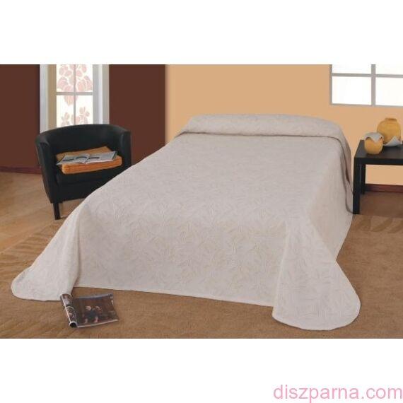 Laura Bézs Leveles ágytakaró