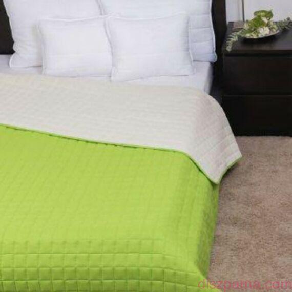 Laura Zöld Törtfehér ágytakaró