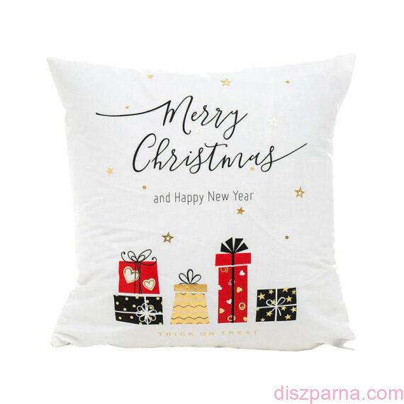 Angel Ajándék karácsonyi díszpárna