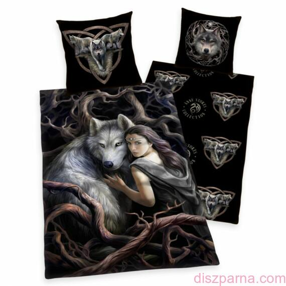 Anne Stokes The wolf queen ágynemű
