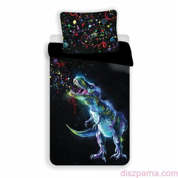 Dinoszauruszos Fekete ágynemű