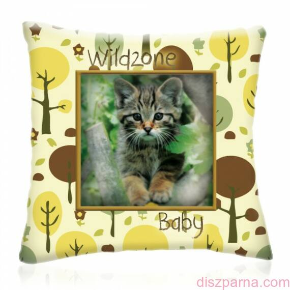 Wild Zone Baby Cica díszpárna