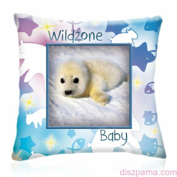 Wild Zone Baby Fóka díszpárna
