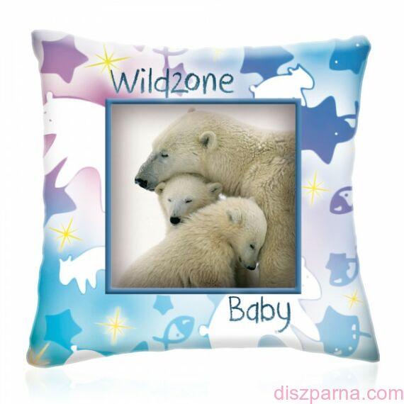 Wild Zone Baby Jegesmedvék díszpárna