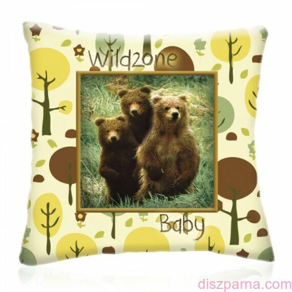 Wild Zone Baby Kisbocsok díszpárna