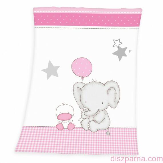 Elefántos-kacsás gyerekpléd