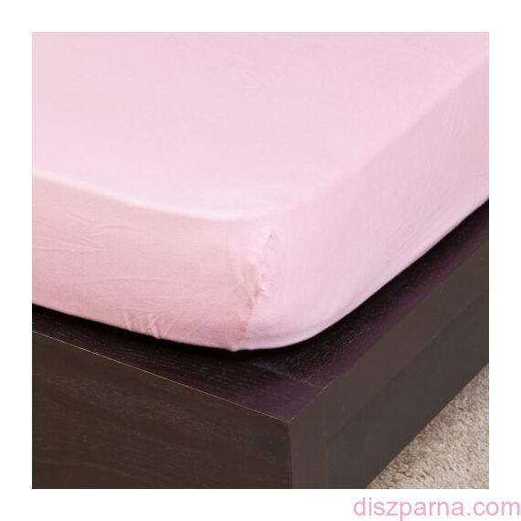 Halvány rózsaszín jersey lepedő 70x140 cm