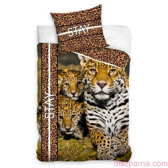 Leopárdos ágynemű