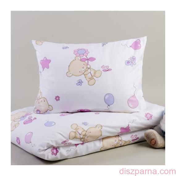 Macis Rózsaszín Ovis ágynemű