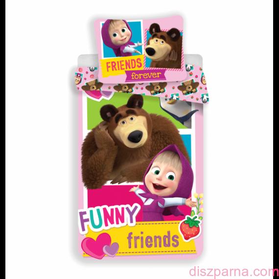 Mása és a medve Funny ágynemű