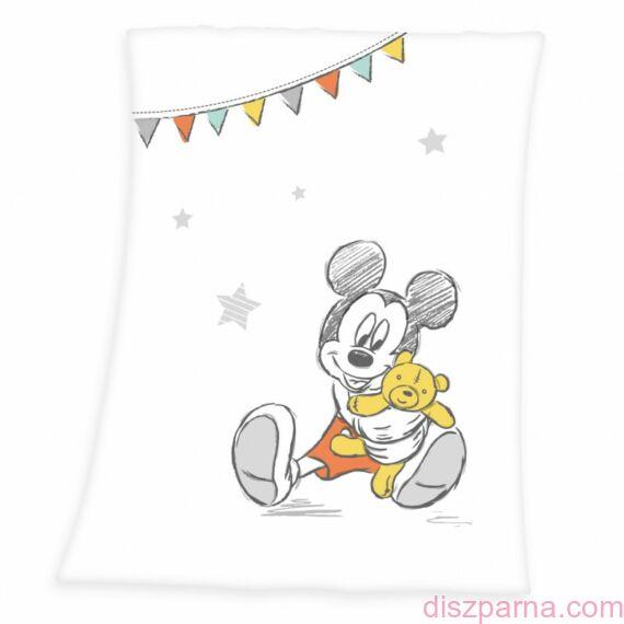Mickey egér gyermekpléd