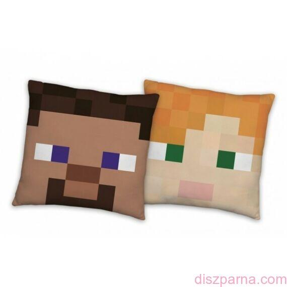 Minecraft Heads díszpárna