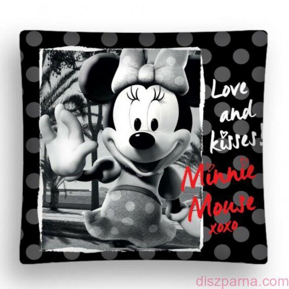 Minnie egeres Fekete-fehér díszpárnahuzat