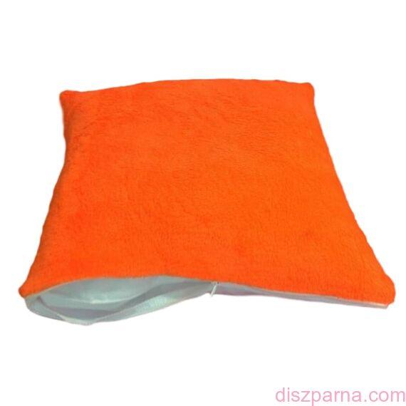 Narancs szublimálható plüss párnahuzat