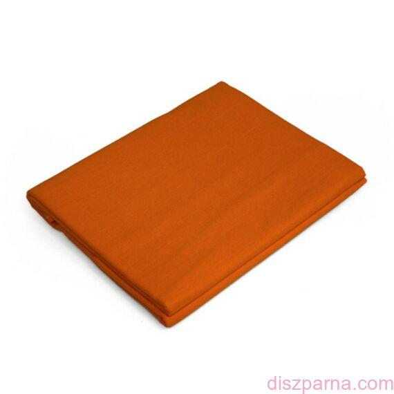Narancssárga aláhajtós lepedő 220x240 cm