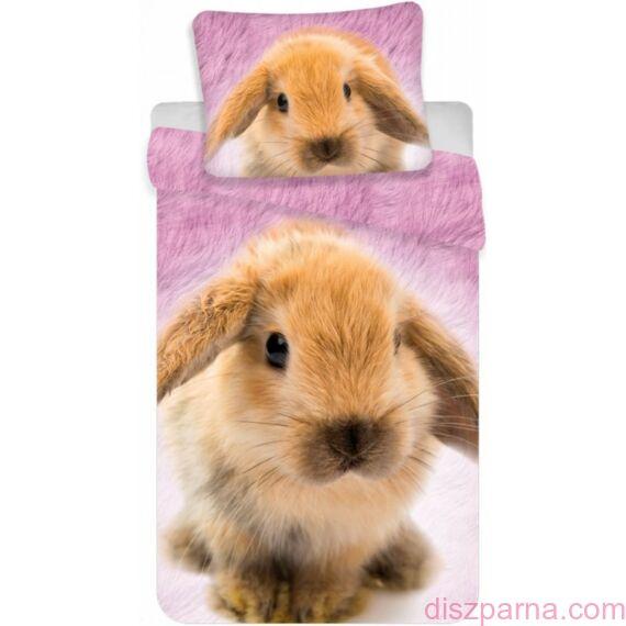 Nyuszis Rózsaszín ágynemű