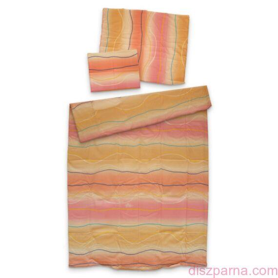 Pink sávos krepp ágynemű