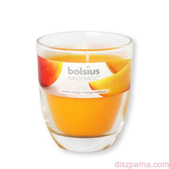 Poharas Bolsius illatmécses mangó illatú