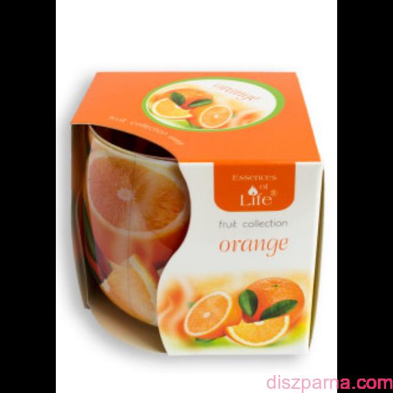 Narancs poharas illatmécses