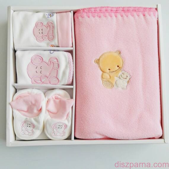 Rózsaszín babadoboz