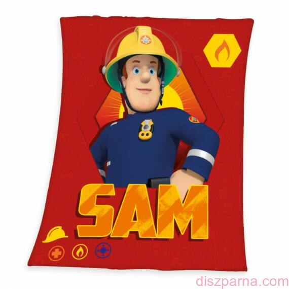 Sam a tűzoltó pléd