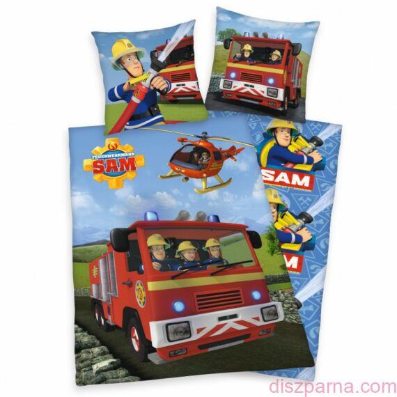 Sam a tűzoltó - tűzoltóautó ágynemű