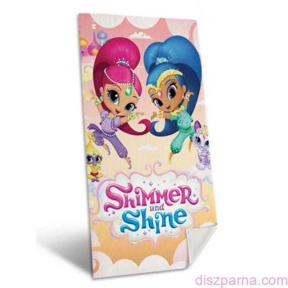 Shimmer és Shine törölköző 70x140 cm