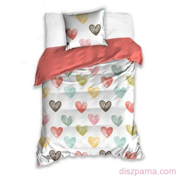 Szívecskés Szerelmes ágynemű