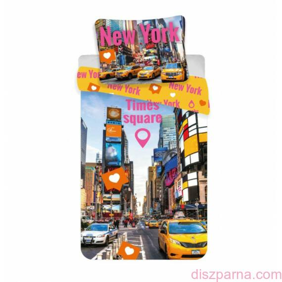 New York Times Square ágynemű