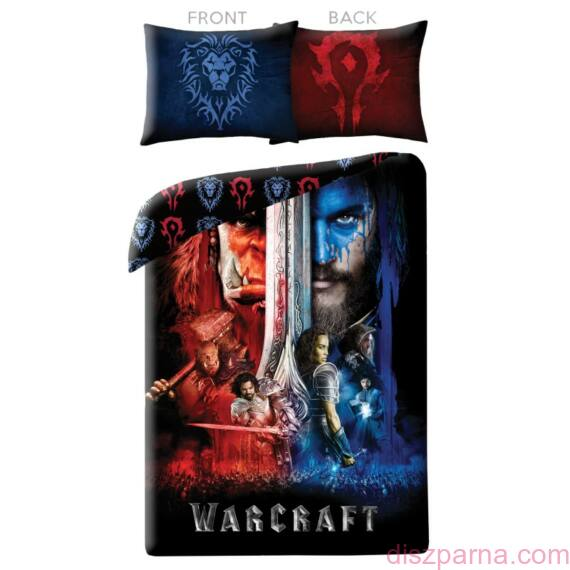 World of Warcraft Kék-Piros ágynemű