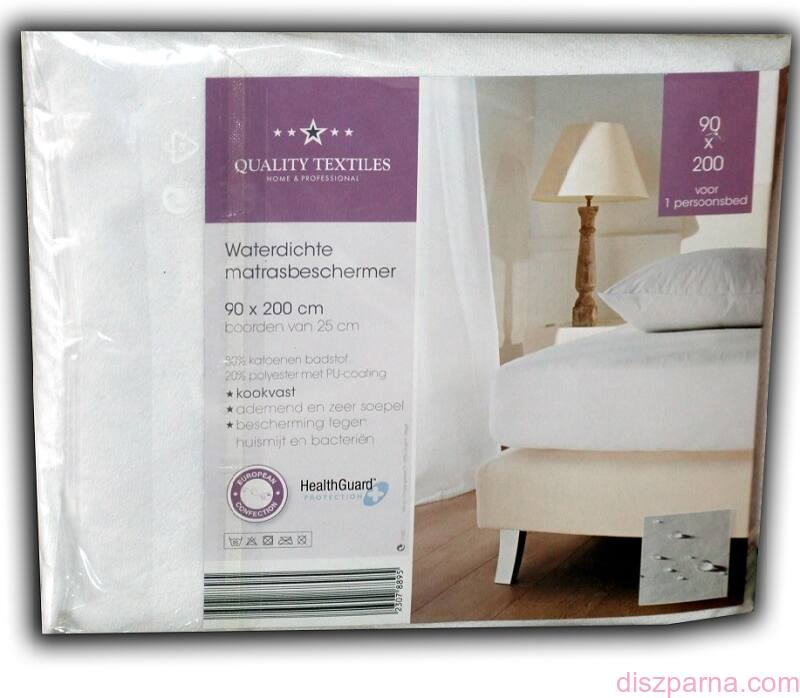 GYÓGYÁSZATI gumis matracvédő lepedő 90x200 cm